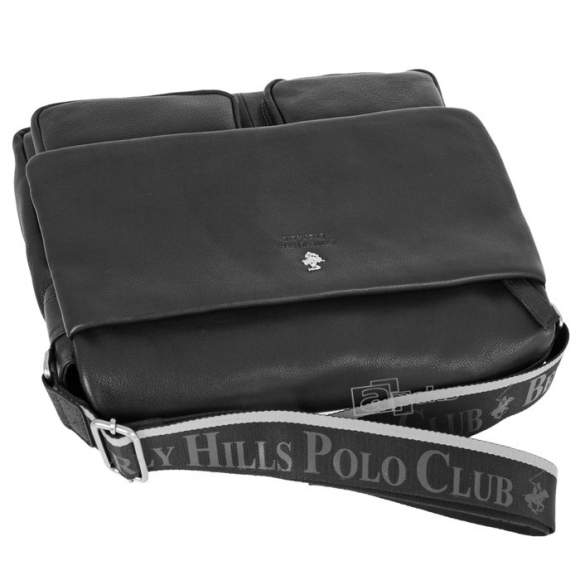 Beverly Hills Polo Club Virginia skórzana torba na ramię - laptop 15,6''