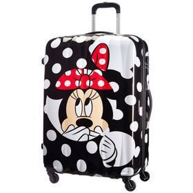 American Tourister Disney Legends Minnie Dots duża walizka