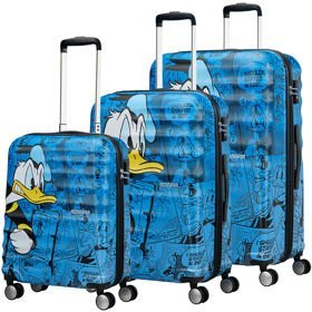 American Tourister Wavebreaker Disney Donald Duck zestaw walizek / komplet / set