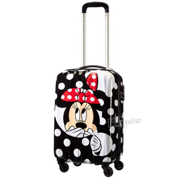 American Tourister Disney Legends Minnie Dots mała walizka kabinowa