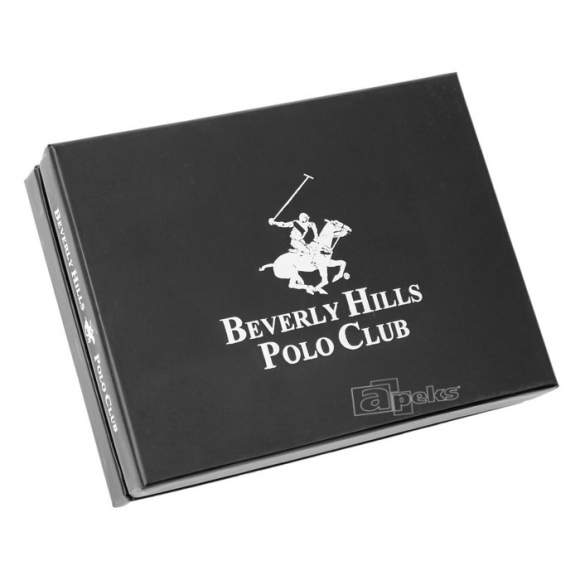 Beverly Hills Polo Club ILLINOIS BH-352 BLUE damski portfel skórzany