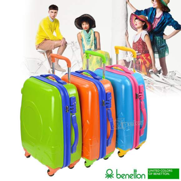 United Colors of Benetton Shak 3 duża walizka