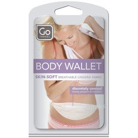 Go Travel DG/599 BODY POCKET saszetka biodrowa ultra cienka