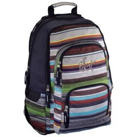 "All Out Louth plecak szkolny 45 cm /  laptop 15,6"" / Watefall Stripes"