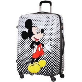 American Tourister Disney Legends duża walizka 75 cm / Mickey Mouse Polka Dot