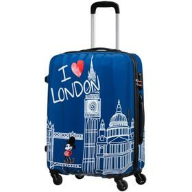 American Tourister Disney Legends średnia walizka 65 cm / Take Me Away Mickey London