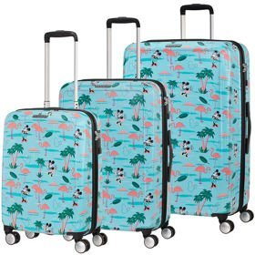 American Tourister Funlight Disney zestaw walizek / komplet / set / Minnie Miami Beach