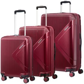 American Tourister Modern Dream zestaw walizek / komplet / set / bordowy