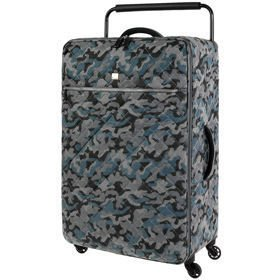 IT Luggage World's Lightest Quilted Camo duża walizka L