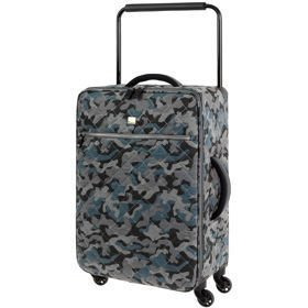 IT Luggage World's Lightest Quilted Camo średnia walizka M