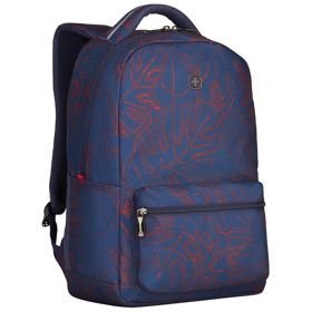 "Wenger Colleague plecak damski na laptopa 16"" / Navy Outline Print"