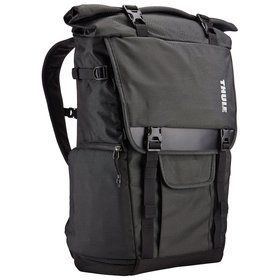 "Thule Covert DSLR Rolltop Backpack plecak na aparat fotograficzny / na laptopa 15"" / Dark Shadow"