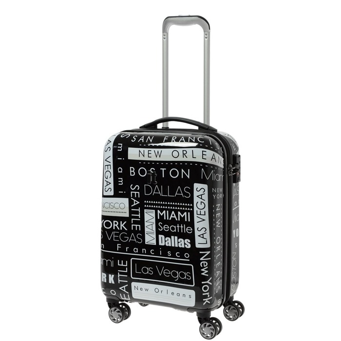 IT Luggage Imprint mała walizka kabinowa poszerzana 24/53,5 cm / Location Names