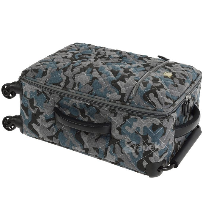 IT Luggage World's Lightest Quilted Camo mała walizka kabinowa S 20/55 cm / Warm Grey Camo