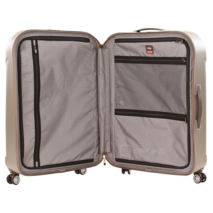 Travelite Elbe Two XL duża walizka 81 cm / antracyt